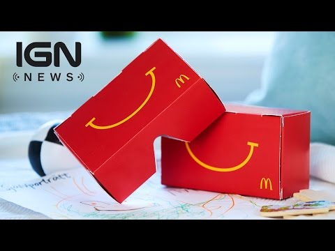 McDonald's Testing 'Happy Goggles' VR Device in Sweden - IGN News