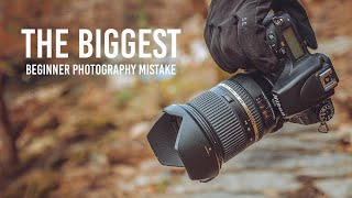 The BIGGEST Beginner Photography Mistake