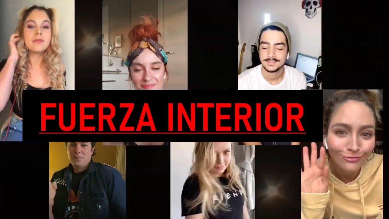 ¨Fuerza interior¨ Elenco Bia  en cuarentena (COVER)