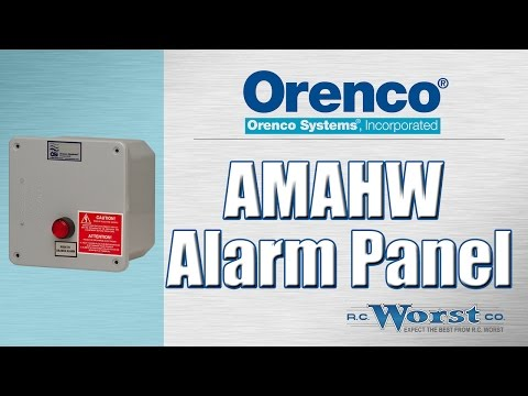 orenco systems inc orenco amahw alarm panel 115v raintight orenco systems inc orenco amahw alarm panel 115v raintight enclosure oncamahw