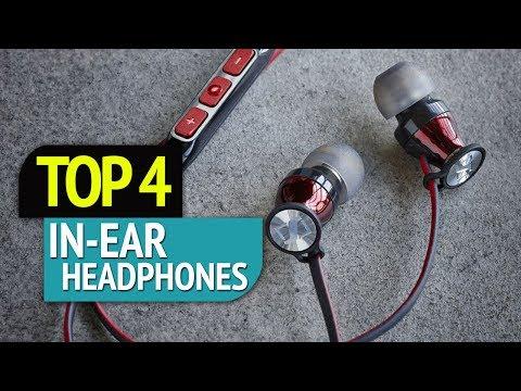 TOP 4: In-Ear headphones 2018