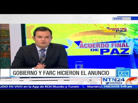 """""""La paz tiene un precio"""": Pdte Congreso sobre participación de las FARC en la política"""