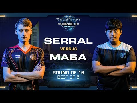 Serral vs MaSa ZvT - RO16 - WCS Leipzig 2018 - StarCraft II