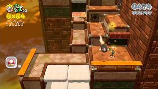 Nintendo Wii U Longplay [002] Super Mario 3D World (World 5-Castle) Part 2 of 4