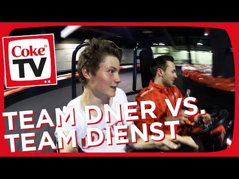 Kart-Challenge mit Dner am Nürburgring | #CokeTVMoment