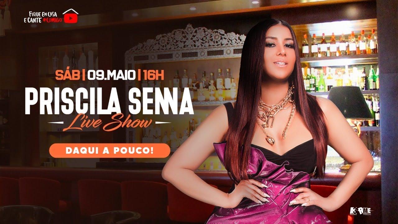 Priscila Senna A Musa - Live Show