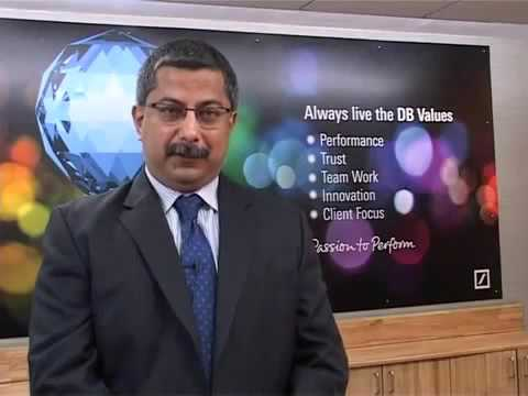 Testimonial by Arindam Banerjee, MD & Global Head, Deutsche Bank Operations International Pvt  Ltd