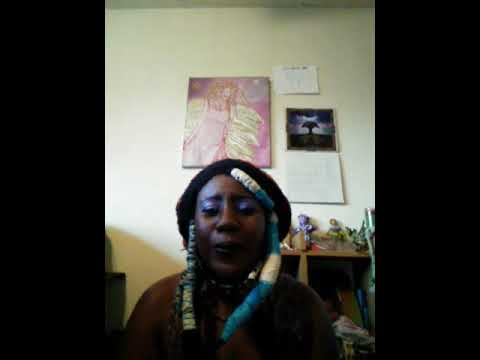Freeform Dreadlock Talk Yarn Wrapping Dreads