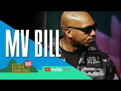 """Estilo vagabundo 1"" - MV Bill no Estúdio Showlivre no YouTube Space Rio 2017"