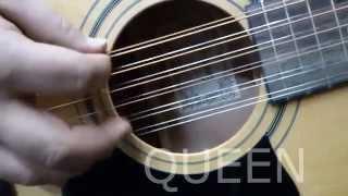 Guitarra acústica Ibanez V7212 - 12 cuerdas