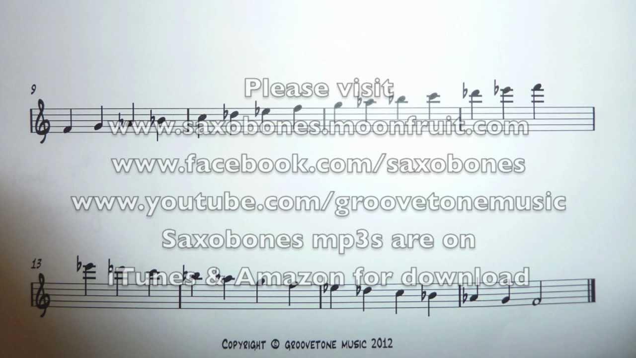 Altissimo 2 Octave Scale Of Ab Major F Minor For Alto Sax Youtube