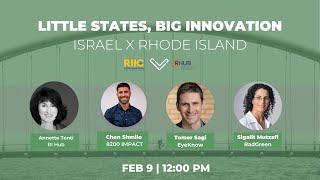2/21 Little States, Big Innovation | RI | District Hall Providence