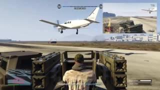 GTA 5 Online - Gunrunning DLC - Mobile Operationen - Fluchtplan - Flak Anhänger