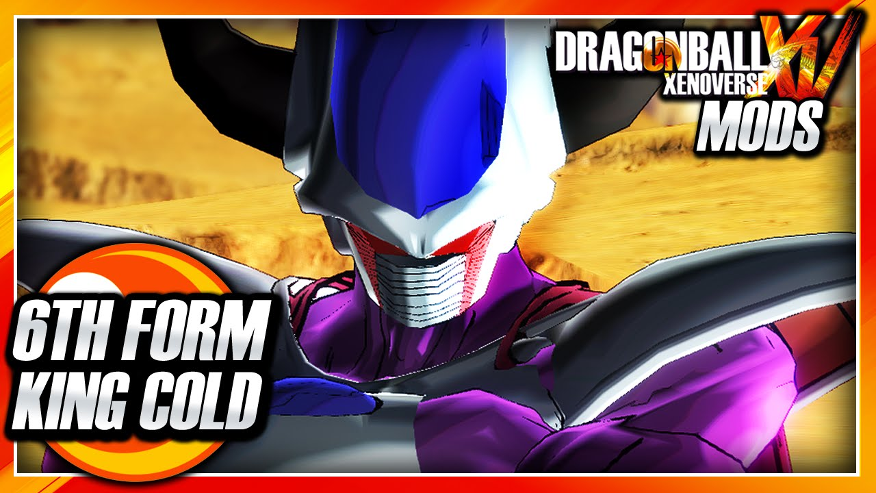 Dragon Ball Xenoverse PC: 6th Form King Cold (Fan-Made ...
