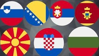Южные славяне : болгары, сербы, хорваты, босняки, македонцы, словенцы и черногорцы