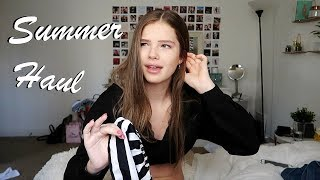 HUGE Summer Try On Clothing Haul