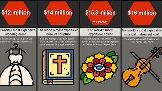 Comparison: Most Expensive Things In The World
