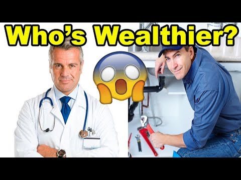 Doctor vs Plumber: Which person is WEALTHIER at Age 42