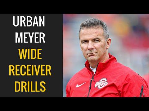 Urban Meyer: Wide Receiver Drills