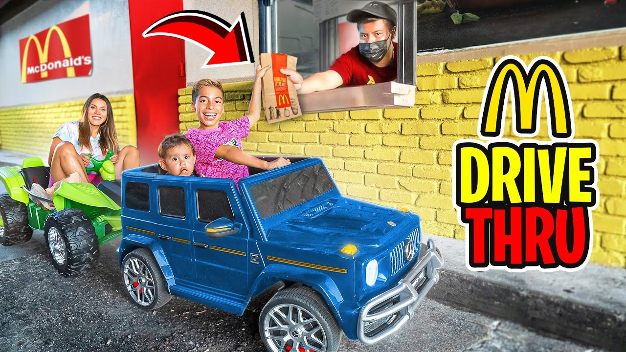 Download LETTING OUR KIDS DRIVE For The FIRST TIME!! (McDONALD'S Drive Thru) | The Royalty Family