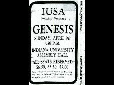 Genesis Live Bloomington,USA 1978 Down and Out (Soundboard)