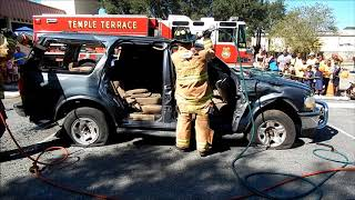 Hydraulic cutting tools vs 1999 Ford SUV