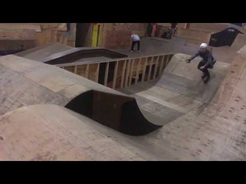 Michael Lulianello Inline Skates The Rhytm Section At Breaking Free Skatepark