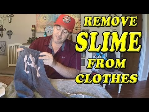 Easily Remove Slime From Clothes