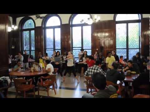 Flash mob at Columbia University