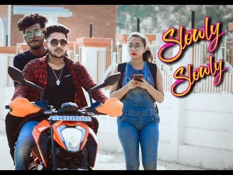 slowly-slowly-|-guru-randhawa-|-pitbull-|-new-hindi-song-2019-|-cute-love-story-|-heartqueen