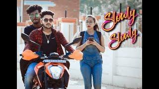 Slowly Slowly | Guru Randhawa | Pitbull | new hindi song 2019 | Cute Love Story | HeartQueen