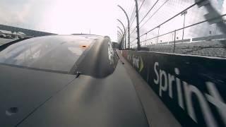 NASCAR Darlington Raceway Onboard Lap - Right Rear Quarter Panel