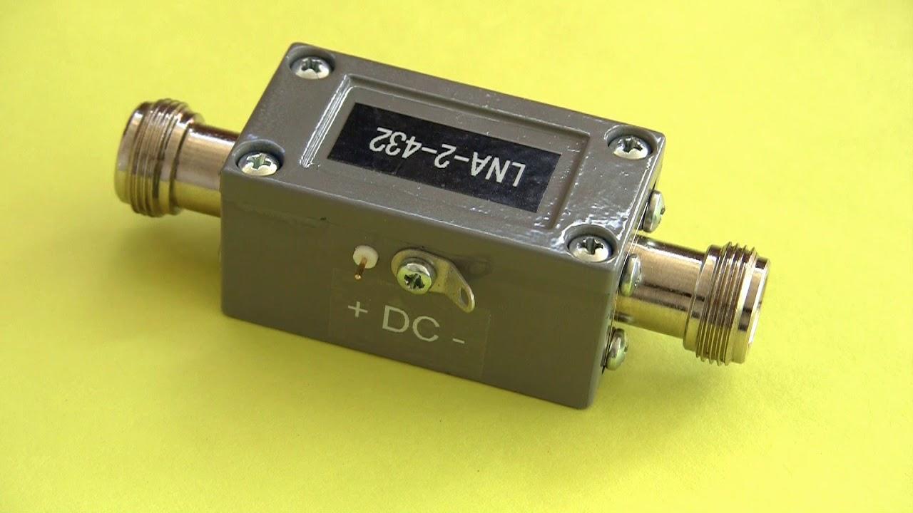 432 MHz Low Noise Preamplifier