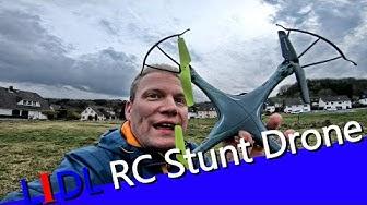 LIDL RC Stunt Drone - Angebot vom 07.03.19 - Review mit Flugtest - Was geht?