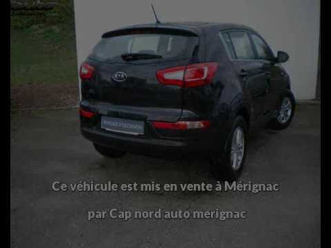 kia sportage occasion visible m rignac pr sent e par cap nord auto merignac youtube. Black Bedroom Furniture Sets. Home Design Ideas