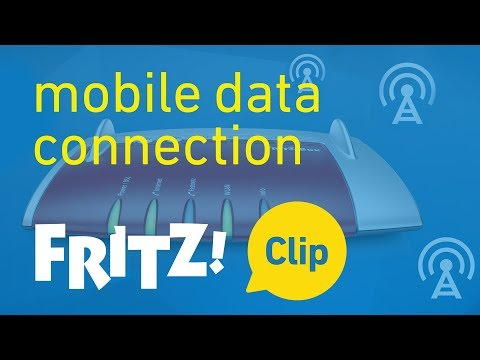 FRITZ! Clip – Internet connection via mobile communications networks