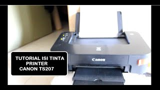 Tutorial Isi Tinta Printer Canon TS207 PG745S (Hitam)