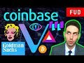 Is crypto about to moon? Coinbase security tokens! Waltonchain, VeChain, Basic Attention Token, $AMB