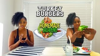 EATING HOMEMADE TURKEY BURGERS Keto Recipes
