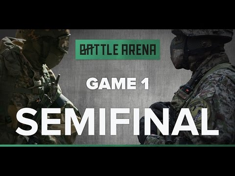 Game 1. Airsoft FPS - Snegiri VS Barracuda || GoPro || BattleArena
