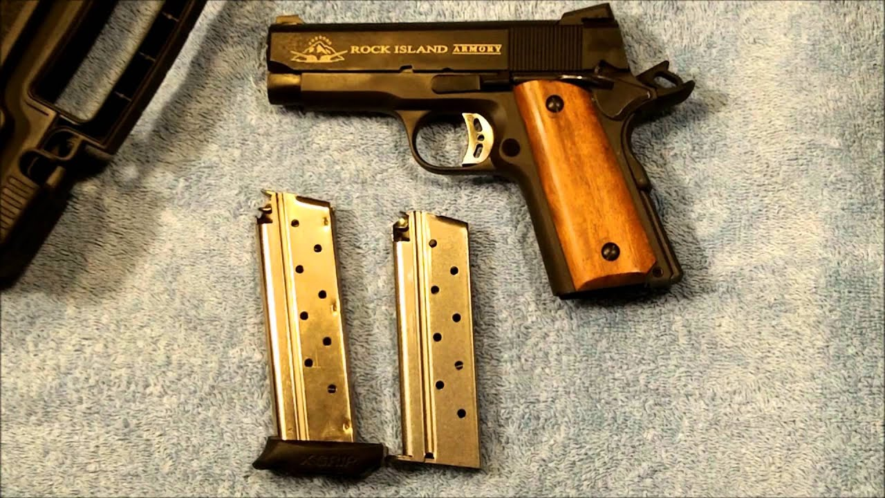 1911: Rock Island Compact Tactical 9mm at the Range