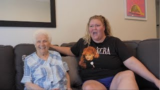 Trailer Trash Tammy Interviews 92 Year Old Granny ft. Chelcie Lynn
