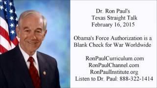 Ron Paul: Obama