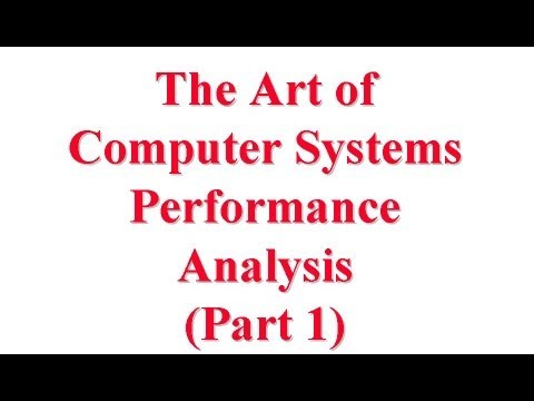 Computer Systems Performance Analysis: An Introduction