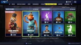 "FORTNITE December 27Th Skin ""POISCAILLE"" shop!"