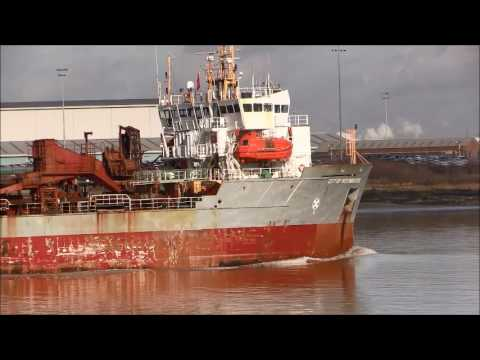 Thames Shipping by Richie Sloan, The CITY OF WESTMINSTER, Dredger.