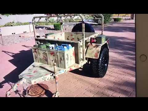 M8-A1AMMO MULE OFF ROAD TRAILER FOR SALE Palm Springs AZ Craigslist