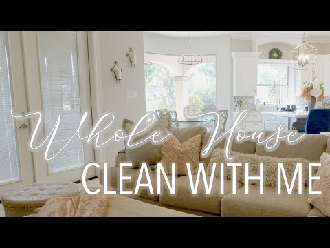 WHOLE HOUSE CLEAN WITH ME || ENTIRE DAY || WEEKEND CLEANING