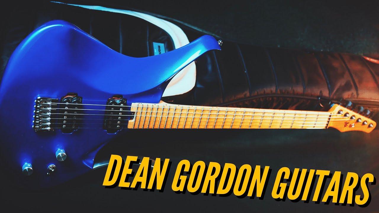 Best. Fret Access. Ever.   Dean Gordon Guitars Virtus