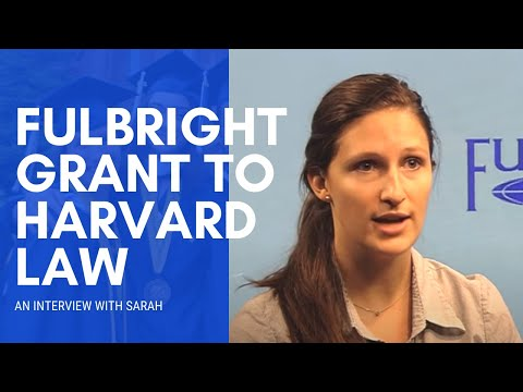 LLM at Harvard Law School: Sarah Panis